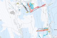 Bublava - Stříbrná Mapa sjezdovek
