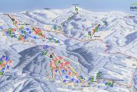 Černý Důl Trail Map