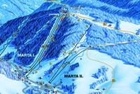 Deštné v Orlických horách Trail Map