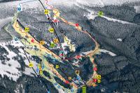 Rokytnice nad Jizerou - Horní Domky Trail Map