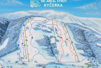 Synot Kyčerka Plan des pistes