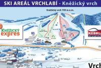 Vrchlabí - Kněžický vrch Trail Map