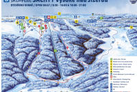 Vysoké nad Jizerou - Šachty Løypekart