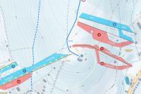 Železná Ruda - Nádraží - BelvederŽelezná Ruda - Nad nádražím - Belveder Trail Map