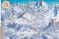Alpe di Siusi / Seiser Alm Løypekart