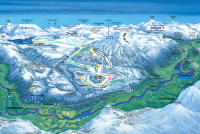 Hemsedal - Solheisen Trail Map