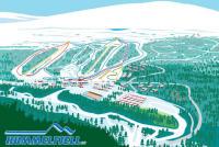 Hummelfjell Trail Map