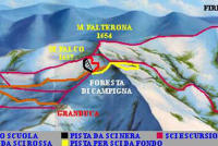 Campigna Monte Falco Trail Map