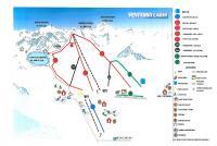 Ventasso Laghi Plan des pistes