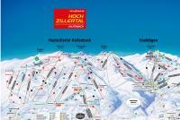 Fügen - Spieljoch Trail Map