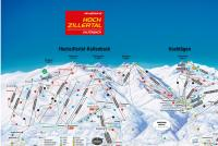 Hochzillertal Trail Map