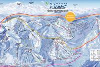 Les Saisies Trail Map