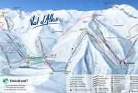 Val d'Allos Piste Map