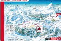 Artouste - Fabrèges Mappa piste