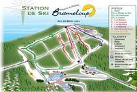 Brameloup Mappa piste