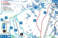 Camurac Mappa piste