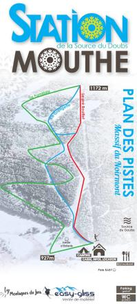La Source du Doubs - Mouthe Mappa piste