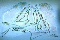 La Loge des Gardes Mapa de pistas