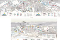 Savoie Grand Revard Mapa zjazdoviek