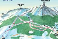 Laye en Champsaur Mapa tras