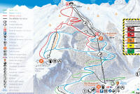 Pelvoux-Vallouise Mappa piste