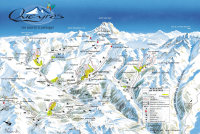 Ristolas Piste Map