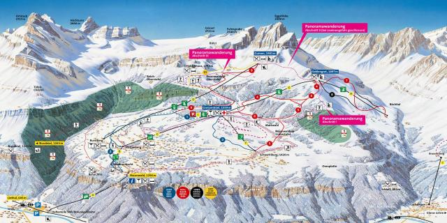 Braunwald Trail Map