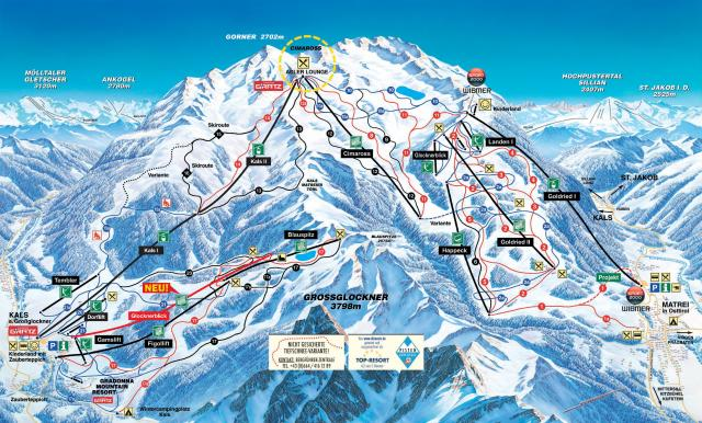 Kals - Großglockner Resorts Kals/Matrei Trail Map