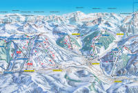 Gstaad Trail Map