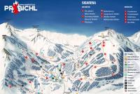 Präbichl Piste Map