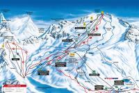 Mölltaler Gletscher Pistenplan
