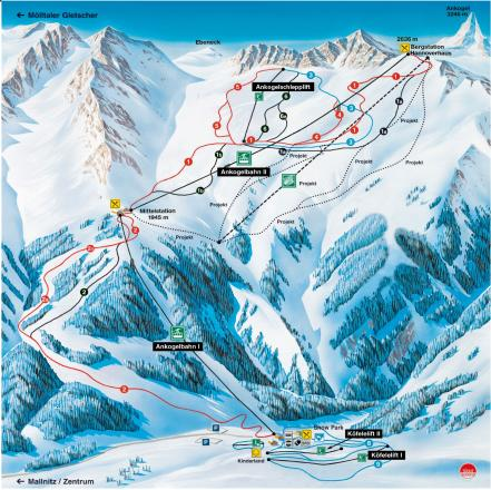 Ankogel Trail Map