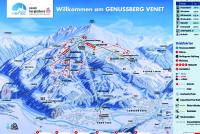 Venet - Zams - Landeck - Tirol West Løypekart