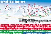 Bláfjöll Mappa piste