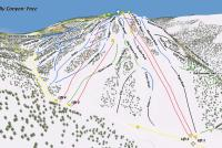 Kelly Canyon Ski Area Plan des pistes