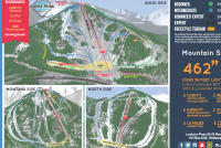 Lookout Pass Ski Area Plan des pistes