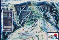 Pebble Creek Ski Area Trail Map