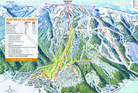 Tamarack Resort Plan des pistes