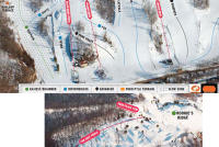 Chestnut Mountain Resort Plan des pistes