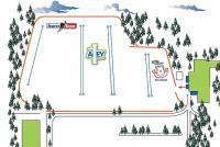 Four Lakes Plan des pistes