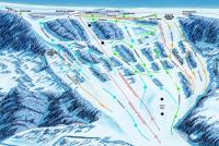 Sundown Mountain Plan des pistes