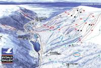 Bydalsfjällen Trail Map
