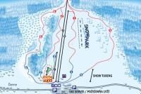 Ski Makov Mapa zjazdoviek