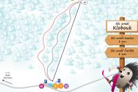 Klobouk - Olomoučák Mappa piste