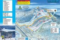 Isaberg Plan des pistes