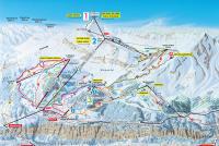 Mürren - Schilthorn Mapa de pistas