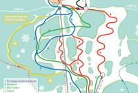 Hauteville-Lompnes Plan des pistes