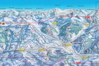 Glacier 3000 Plan des pistes