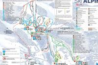 St-Cergue La Dôle Trail Map