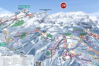 Villars - Gryon Trail Map